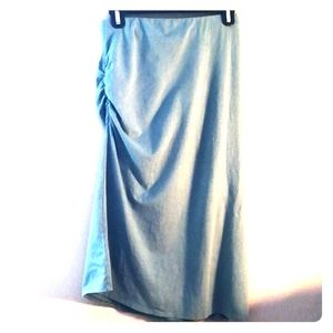 Patagonia Sinched midi skirt in muted mint